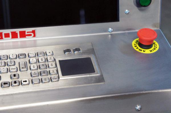 Ploter plazmowy CNC - Konsola